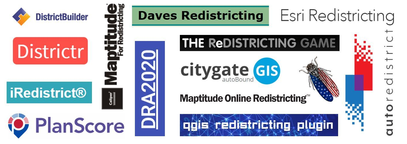 Redistricting Software Tools - An Annotated Listing