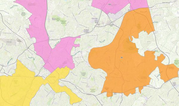 And now ... the Overturned NC House Districts Map